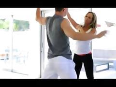Brandi Love Goes For Training