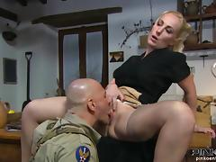 Banging the madam in the ranger's office