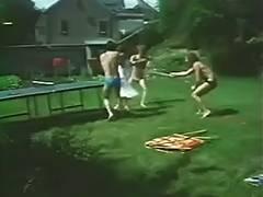 Gaelle Malou et Virginie 1975