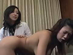 Japanese Lesbian Babes So U Desire to Ride Like A Jockey