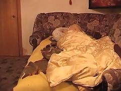Russian aged has lesbo sex with younger cutie