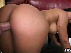 Booty Nikki Delano and Rose enjoys fucking
