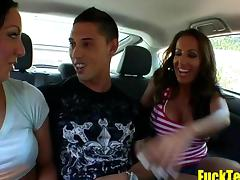 Pornstar Pick Up and Suck Dudes from the Car