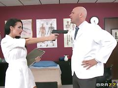 Yummy Alektra Blue And Johnny Sins Go Hardcore In The Hospital