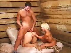 Farm Sex Threesome