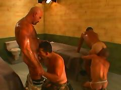 Spectacular Police Men And Prisoners Have Anal Sex In Jail