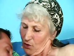 Hairy Grannies videos. Hairy granny gets her pussy plowed by dick